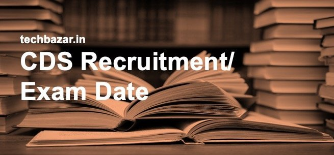 Picture showing CDS Recruitment/ Exam Dates