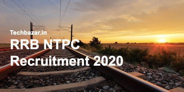 RRB NTPC recruitment 2020