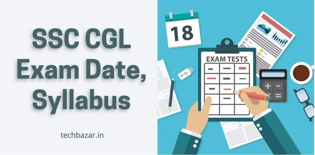 SSC CGL Exam Date 2021, Syllabus