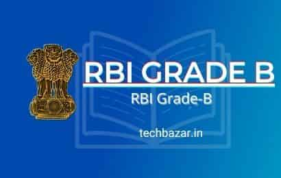 RBI GRADE B 2021 Bank Exam