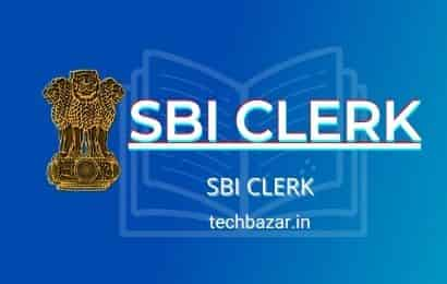SBI clerk 2021 Bank Exam