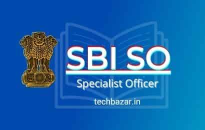 SBI SO 2021 Bank Exam